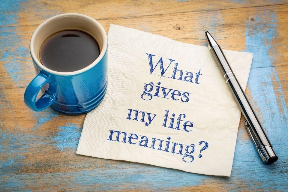 Wat geeft mijn leven betekenis